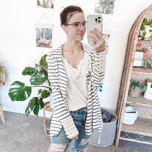 Anthro Saturday Sunday Saige Draped Cardigan